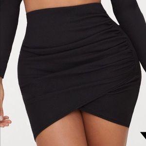 Black skirt size M